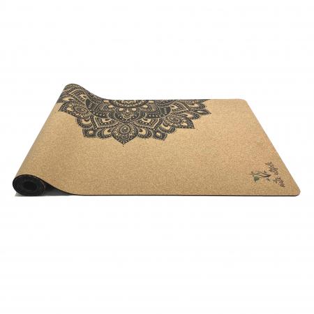 Saltea Yoga din pluta naturala Mandala 1830 x 610 x 4mm [4]