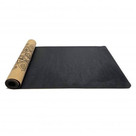 Saltea Yoga din pluta naturala Bloom 1830 x 610 x 4mm [4]