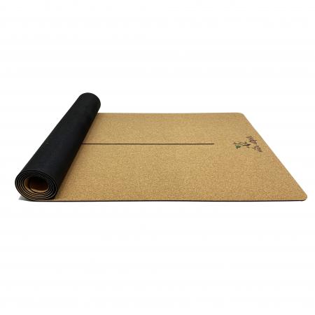 Saltea Yoga din pluta naturala Centered [3]