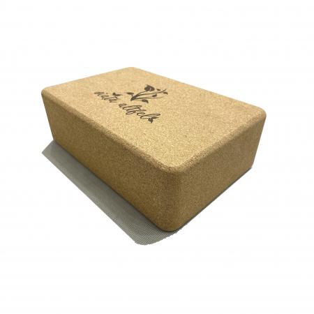 Yoga Block din pluta naturala 23x15x7cm [0]