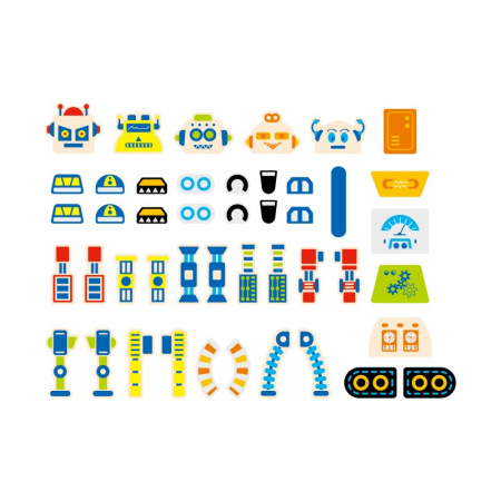 Set de mesterit - Roboti [4]