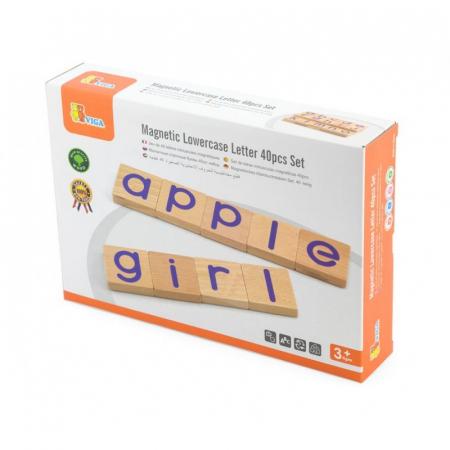 Set magnetic litere mici 40 buc [0]