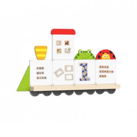 Set table de scris magnetice - Trenulet cu doua vagoane [2]