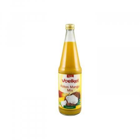 Suc BIO de cocos si mango, 0,7 l Voelkel [4]