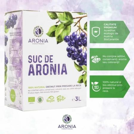 Suc de aronia ecologic 3 litri [2]