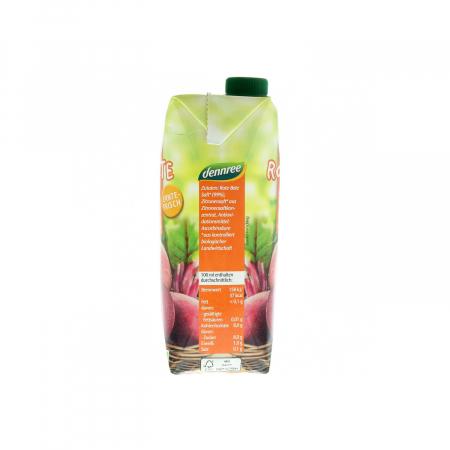 Suc de sfecla rosie BIO VEGAN Dennree 500ml [1]