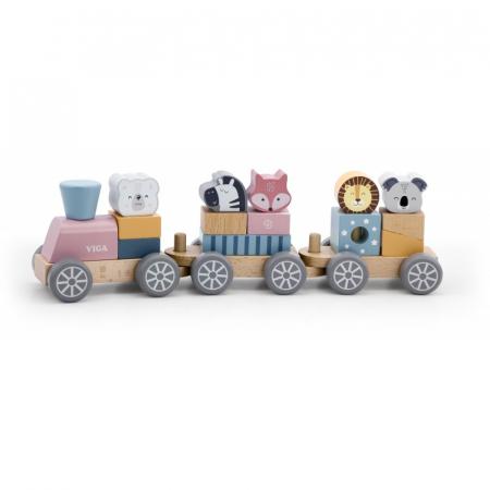 Trenulet modular cu animale, PolarB Viga [0]