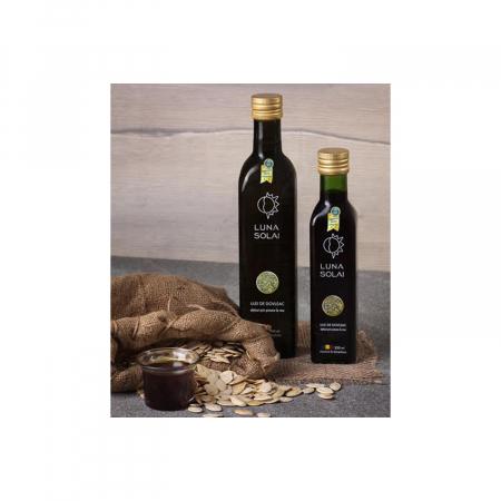 Ulei de dovleac presat la rece Luna Solai – sticla olive 250 ml [0]