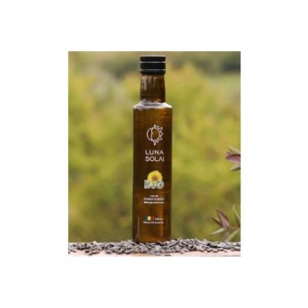 Ulei de floarea soarelui presat la rece Luna Solai bio/ECO – sticla 250 ml [0]