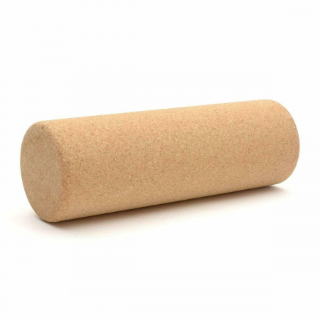 Yoga Roller cilindric cu pluta naturala 300x100 mm [0]