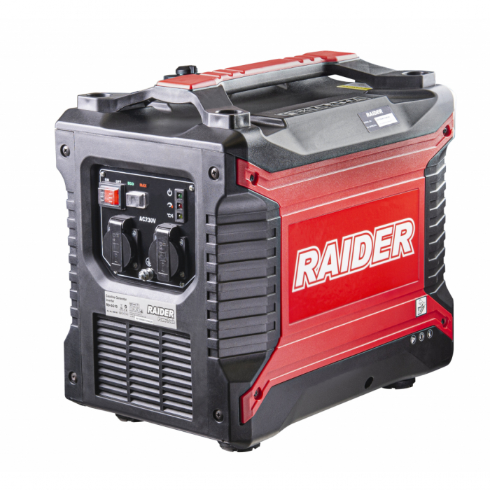 Generator pe benzina 4 timpi 2.5 kw, 2500 w, 3.3 cp Invertor RD-GG10 0