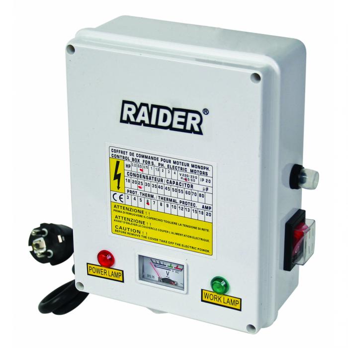 Pompa submersibila RAIDER RD-WP24 apa curata 1100 W 4980 l/h inaltime refulare 86 m inox, 14 turbine 1