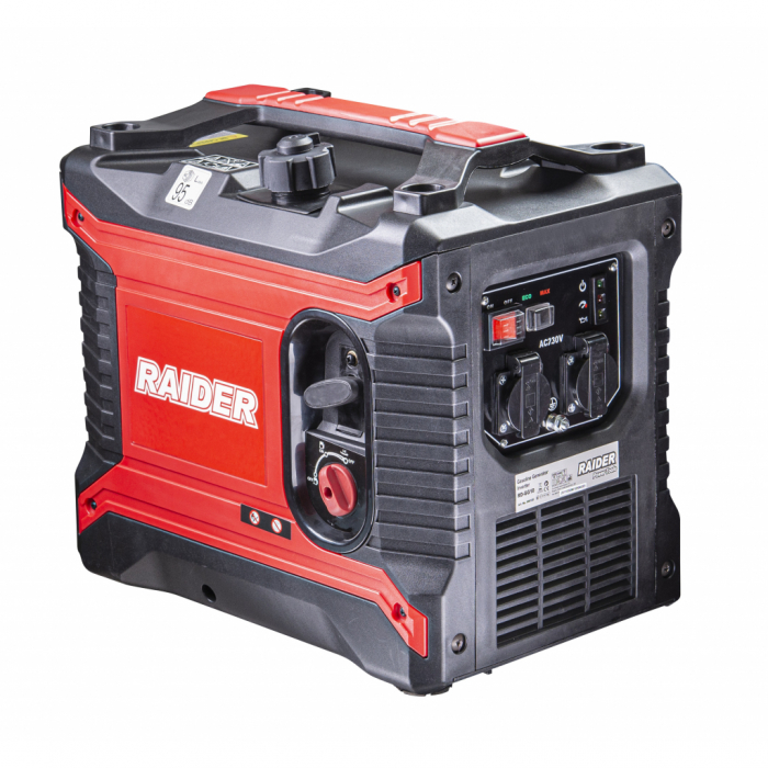 Generator pe benzina 4 timpi 2.5 kw, 2500 w, 3.3 cp Invertor RD-GG10 1