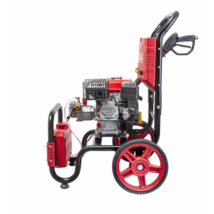 Aparat de spalat cu presiune pe benzina 6.5 CP, 4800W, 20MPa, 10L/min, RD-GHPC06 RAIDER 2