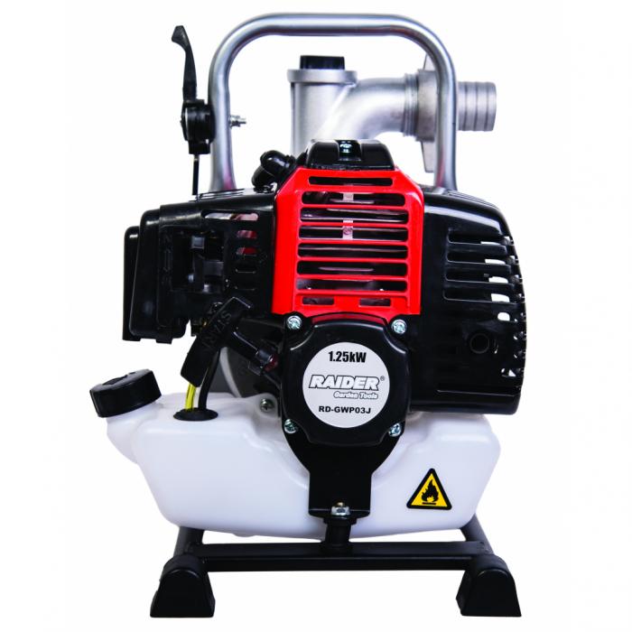 """Motopompa pe benzina 2T, 2.2CP,1.6kW 1.5"""" 317 L/min RD-GWP03 2"""