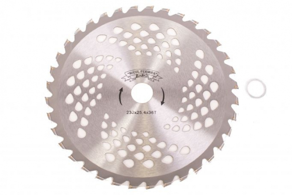 Disc pentru motocositoare nr. 9 (230) cu vidia 3
