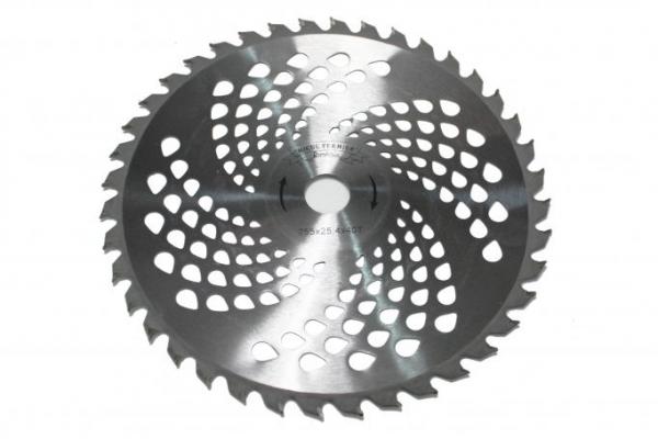 Disc pentru motocoasa nr.10 (255) cu vidia ONDULAT Micul Fermier 0