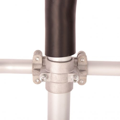Pachet Motocoasa Micul Fermier 2.5kw, 3,4 CP, Complet accesorizata cu 3 accesorii, 2 moduri de taiere + FURCA cu 4 coarne 5