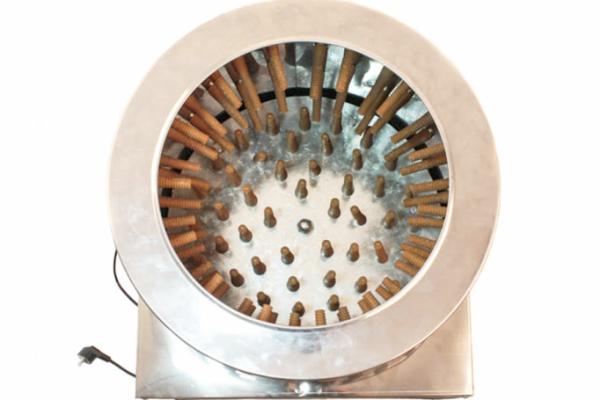 Deplumator pasari profesional ( aparat de jumulit pasari ) 2200W, 240 RPM, 16-18 pasari pe minut [4]