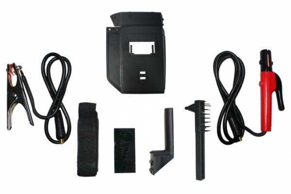 Aparat de sudura Micul Fermier LV 250A, pentru sudare de arc cu electrozi de 2-5 mm, complet accesorizat 1
