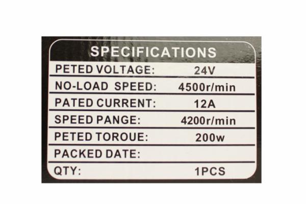 Pompa electrica de transfer combustibil 24V, 1.6-1.8bar, (33)L/min, pompa, combustibil [4]