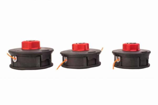Tambur cu fir pentru motocositoare 2.4mm, 1.0F, buton ROSU MIC 1