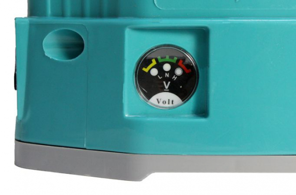 Pompa de stropit electrica si manuala ( 2 in 1 ) 16 Litri 5 Bari, Vermorel Pandora ( Herly ) cu baterie acumulator si manuala + Lance telescopica 3.3 m din inox [7]