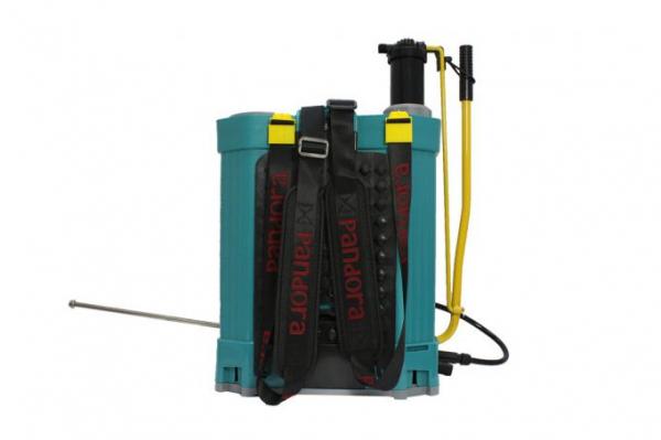 Pompa de stropit cu acumulator si manuala ( 2 in 1 ) 16 Litri, 5 Bari, Micul Fermier ( PANDORA ) + Clopot pentru ierbicidat 7