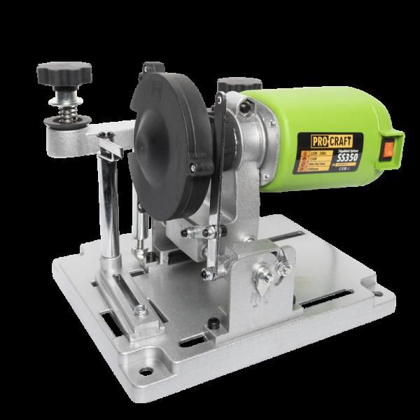 Masina de ascutit discuri pentru circulare, PROCRAFT SS350, 350W, 5300 RPM 1