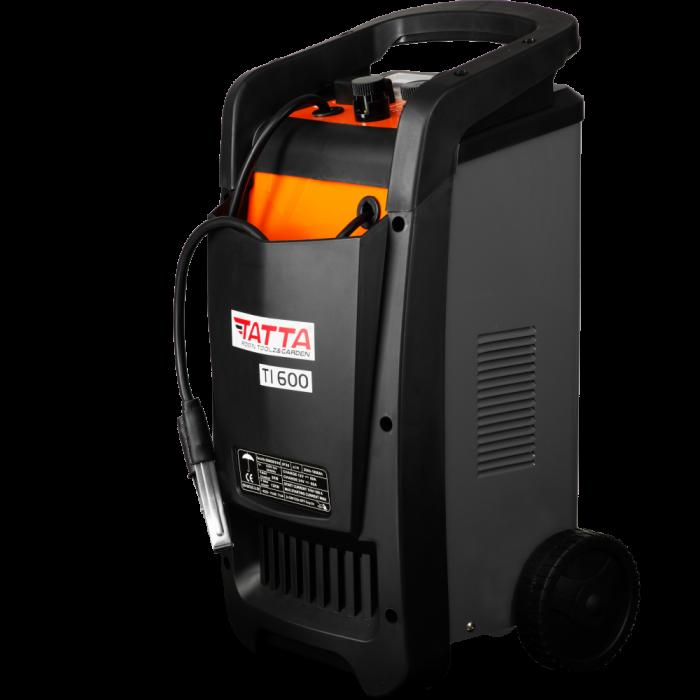 Robot de pornire auto Tatta TI600 Profesional, curent de incarcare max 50A, curent pornire 540A, putere 2.0 KW 2