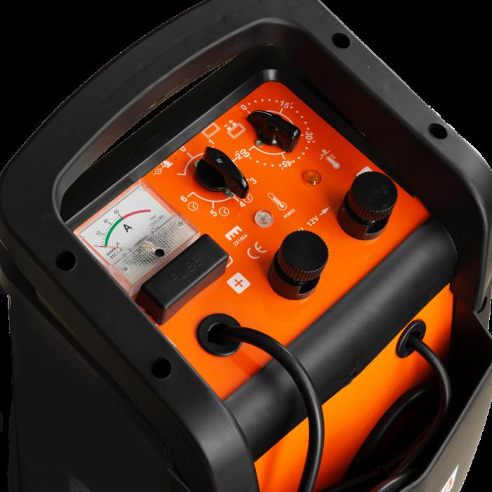 Robot de pornire auto Tatta TI600 Profesional, curent de incarcare max 50A, curent pornire 540A, putere 2.0 KW 3