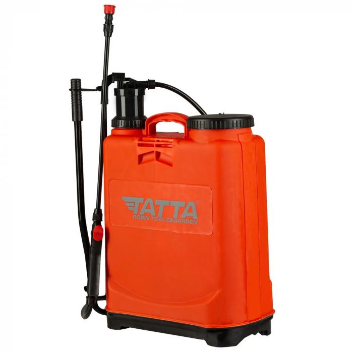 Pompa de stropit actionata manual Tatta TP-20D-1M, 20L, 2.4 bari 1