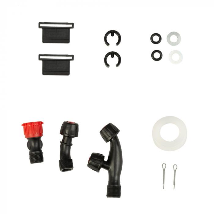 Pompa de stropit cu acumulator si actionare manuala 2 in 1 Tatta TP-1640AM, 16L, 12V 4