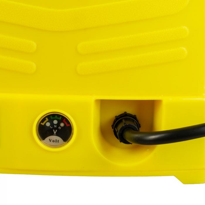 Pompa de stropit cu acumulator si actionare manuala 2 in 1 Tatta TP-1640AM, 16L, 12V 3