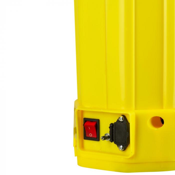 Pompa de stropit cu acumulator si actionare manuala 2 in 1 Tatta TP-1640AM, 16L, 12V 2