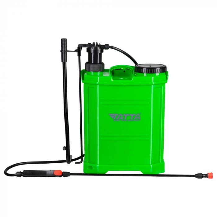 Pompa de stropit actionata manual Tatta TP-18KM, 16L, 2.4 bari 0
