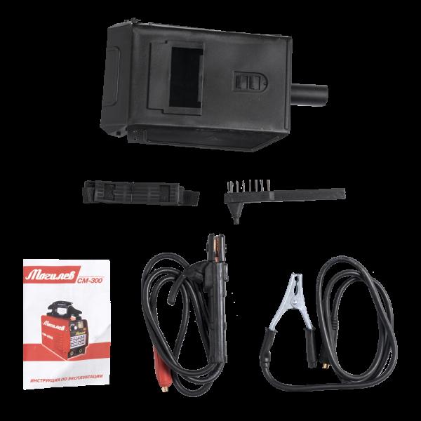 Aparat de sudura invertor MOGHILEV CM-300 , 300 AH, accesorii incluse, electrozi 1.6-4MM 3
