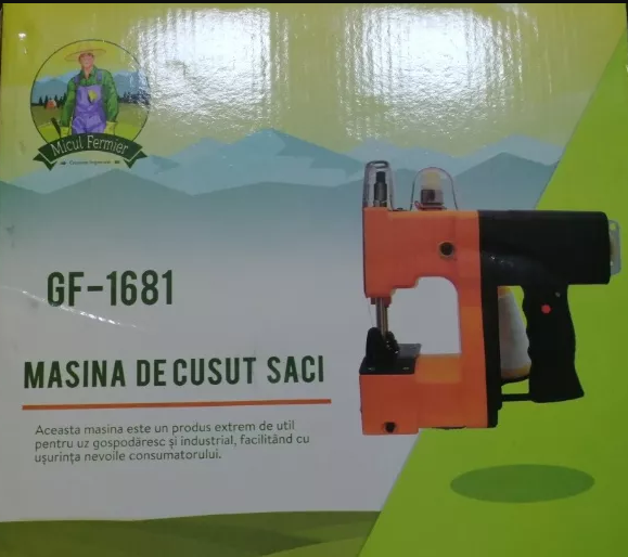 Masina Profesionala Pentru Cusut Saci Rafie,Hartie ,Panza-Plastic 210w taiere automata 3