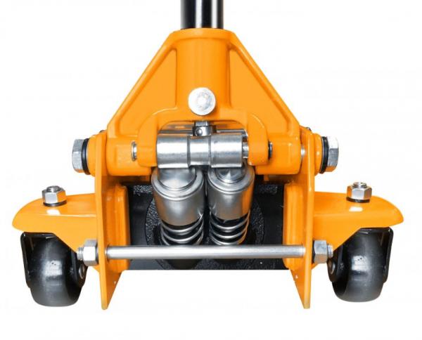Cric hidraulic tip carucior 3 tone cu doi cilindri 1