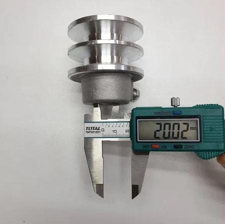 Fulie dubla pentru motor pe benzina AX 20mm 0