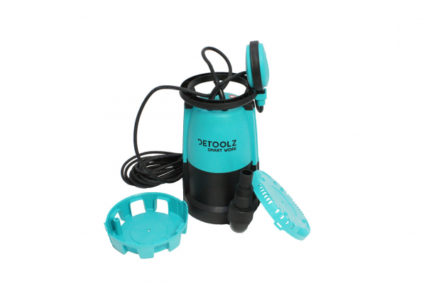 Pompa submersibila DETOOLZ, 750W, apa curata/murdara, 3in1 1