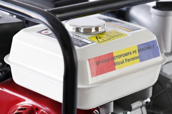 """Motopompa pe benzina 2"""" toli, 6.5Cp, Motor OHV, 4000Rpm , Micul Fermier [10]"""