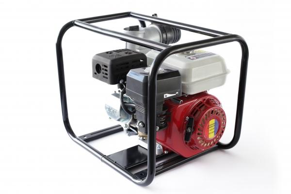 Motopompa pe benzina pe 3 TOLI putere 6,5cp debit 40000L/H 0