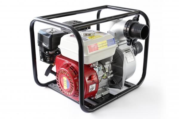 Motopompa pe benzina pe 3 TOLI putere 6,5cp debit 40000L/H 1