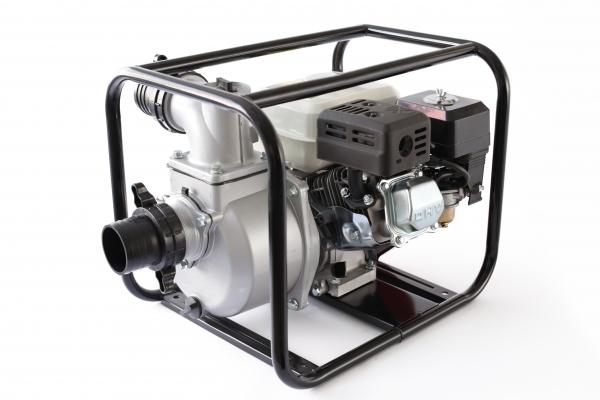 Motopompa pe benzina pe 3 TOLI putere 6,5cp debit 40000L/H 2
