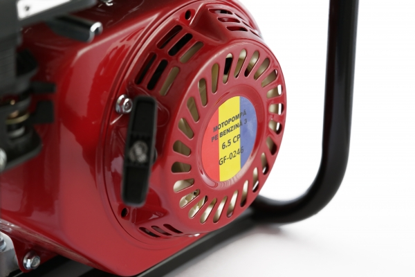 Motopompa pe benzina pe 3 TOLI putere 6,5cp debit 40000L/H 3
