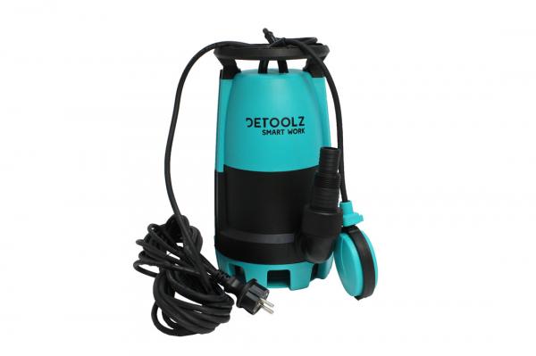 Pompa submersibila DETOOLZ, 750W, apa curata/murdara, 3in1 2