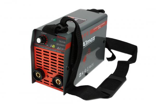 Invertor de sudura Almaz AZ-ES001 250A Electrod 1.6-4mm, accesorii incluse 11