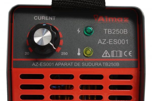 Invertor de sudura Almaz AZ-ES001 250A Electrod 1.6-4mm, accesorii incluse 13