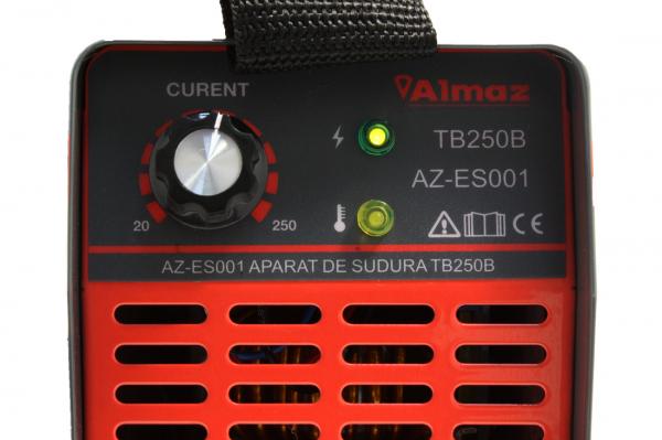 Invertor de sudura Almaz AZ-ES001 250A Electrod 1.6-4mm, accesorii incluse 15